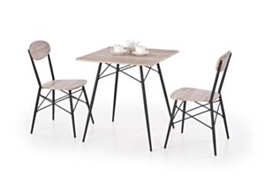 KABIR ruut, laud 2 tooli