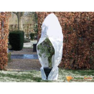 Nature talve fliiskate lukuga 70 g/m² valge 2,5 x 2,5 x 3 m