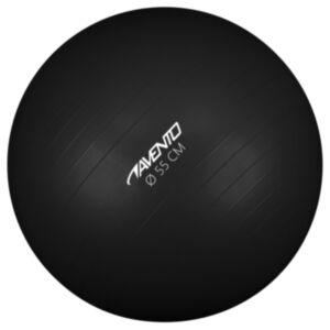 Avento fitness pall 55 cm läbimõõt, must