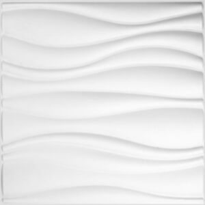 WallArt 3D seinapaneelid lained, 12 tk, GA-WA04