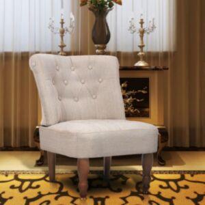 Pood24i Prantsuse tool, kreemjasvalge, kangast