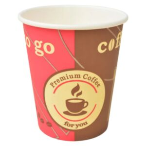 Pood24 ühekordsed kohvitopsid 1000 tk paberist 240 ml