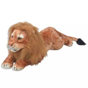 Pood24i pehme mänguasi lõvi, plüüs, pruun XXL