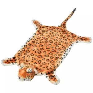 Pood24 leopardikujuline vaip, plüüs 139 cm pruun