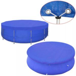 Pood24 basseinikate PE, ümar 460 cm 90 g/m²