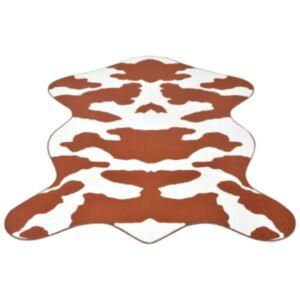 Pood24i vaip 70 x 110 cm pruuni lehmamustriga