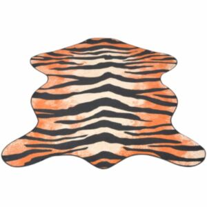Pood24i vaip 70 x 110 cm tiigrimustriga