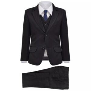 Pood24 laste 3-osaline ülikond, suurus 92/98, must