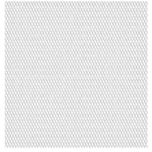 Pood24 võrkaed, roostevaba teras 50 x 50 cm, 20 x 10 x 2 mm