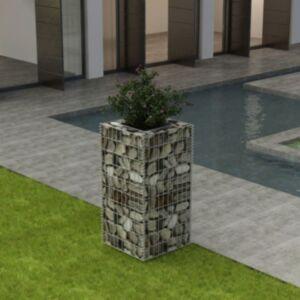 Pood24 gabioon-taimekast, teras 50 x 50 x 100 cm