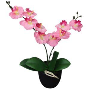 Pood24 kunstorhidee potiga 30 cm, roosa