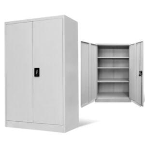 Pood24 kontorikapp, terasest, 90 x 40 x 140 cm hall