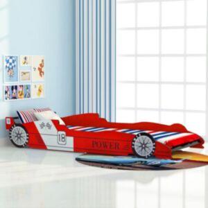 Pood24i võidusõiduauto kujuga lastevoodi 90 x 200 cm punane