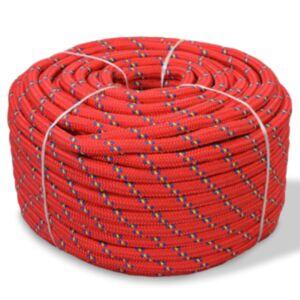 Pood24 paadiköis polürpopüleenist 8 mm, 100 m, punane