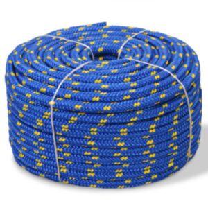 Pood24 paadiköis polürpopüleenist 14 mm, 50 m, sinine