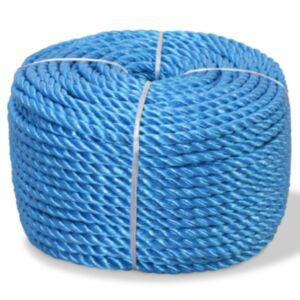 Pood24 punutud paadiköis polürpopüleenist 10 mm, 100 m, sinine