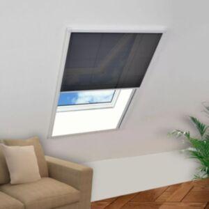 Pood24 plisseeritud putukavõrk aknale, alumiinium, 60 x 80 cm