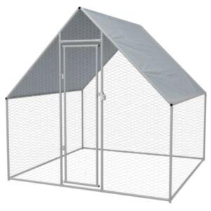Pood24 kanapuur, tsingitud teras, 2 x 2 x 2 m