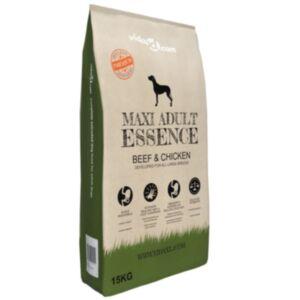 Pood24 Premium koerte kuivtoit Maxi Adult Essence Beef & Chicken 15 kg