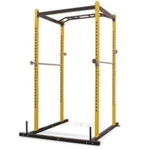 Pood24 treeningu jõujaam 140 x 145 x 214 cm, must ja kollane