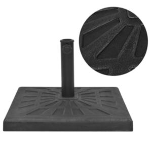Pood24 kandiline päevavarju alus, vaigust, must 19 kg