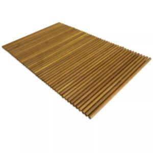 Pood24 vannimatt akaatsiapuidust 80 x 50 cm