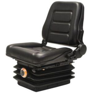 Pood24 kahveltõstuki, traktori iste, vedrustus, reguleeritav seljatugi
