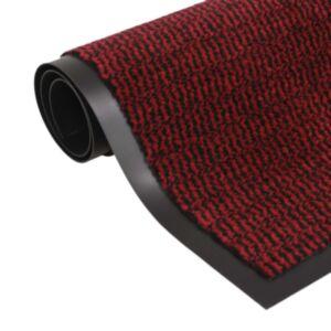 Pood24 uksematt, kandiline, 80 x 120 cm, punane