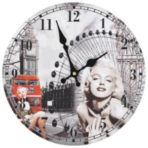 Pood24 vanaaegne seinakell, Marilyn Monroe, 30 cm