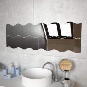Pood24 seinapeeglid 4 tk, 60 x 18,5 cm, laineline, klaas