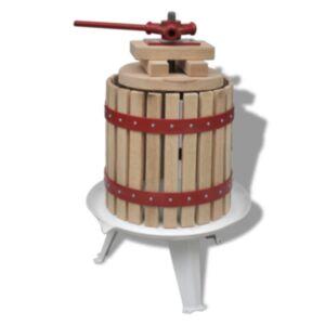 Pood24 puuvilja- ja veinipress, 12 l