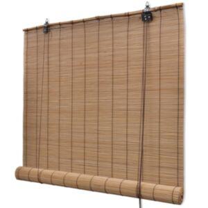 Pood24 ruloo, bambus 80 x 220 cm, pruun