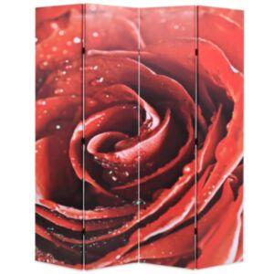 Pood24 kokkupandav sirm 160 x 170 cm, punane roos