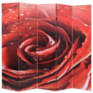 Pood24 kokkupandav sirm 200 x 170 cm, punane roos