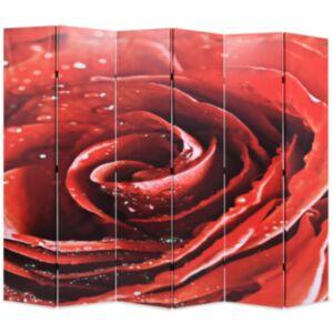 Pood24 kokkupandav sirm 228 x 170 cm, punane roos