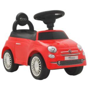Pood24 pealeistutav auto Fiat 500 punane