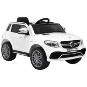 Pood24 laste mänguauto Mercedes Benz GLE63S, plast, valge