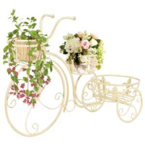 Pood24 taimealus, jalgrattakujuline, vanaaegses stiilis, metall