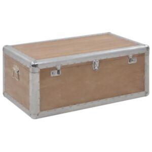 Pood24 hoiukast, kuusepuit, 91 x 52 x 40 cm, pruun