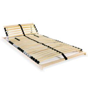Pood24 lippidega voodi aluspõhi, 28 liistu, 7 piirkonda, 70 x 200 cm
