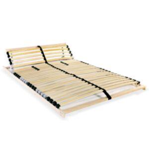 Pood24 voodi aluspõhi, 28 liistu, 7 piirkonda, 100 x 200 cm