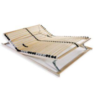 Pood24 lippidega voodi aluspõhi, 28 liistu, 7 piirkonda, 120 x 200 cm