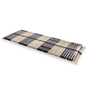 Pood24 lippidega voodi aluspõhi, 42 liistu, 7 piirkonda, 80 x 200 cm