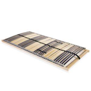 Pood24 lippidega voodi aluspõhi, 42 liistu, 7 piirkonda, 100 x 200 cm