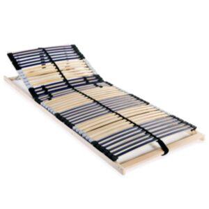 Pood24 voodi aluspõhi, 42 liistu, 7 piirkonda, 90 x 200 cm