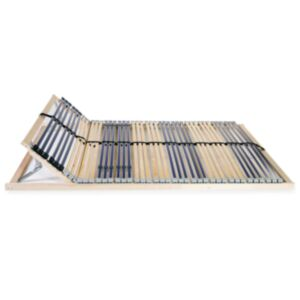 Pood24 voodi aluspõhi, 42 liistu, 7 piirkonda, 100 x 200 cm