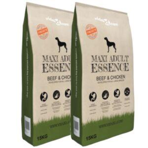 Pood24 koerte kuivtoit Maxi Adult Essence Beef & Chicken, 2 tk 30 kg