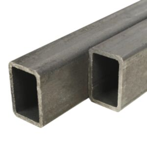 Pood24 kandilised terasest torud 6 tk 2 m 30 x 20 x 2 mm