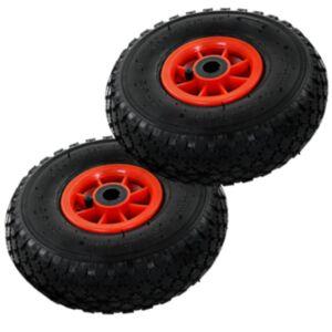 Pood24 pakikäru rattad, 2 tk, kumm 3,00-4 (260 x 85)