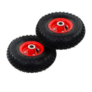 Pood24 pakikäru rattad, 2 tk, kumm 3,00–4 (245x82)